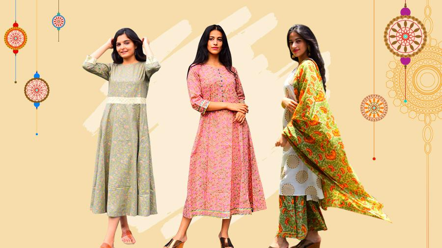 7 Kurti Style Ideal To Look Fabulous on Rakhi!