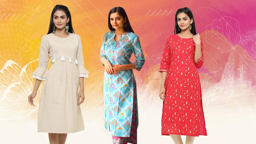 Different Types of Kurti That Suits Your Body Shape